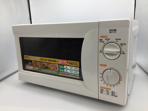 キッチン家電の電子レンジ