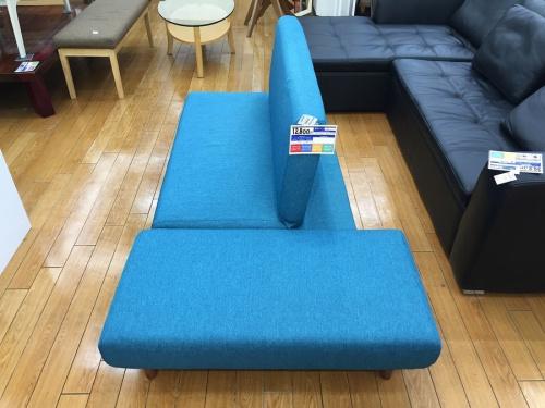 ソファーベッドのソファ