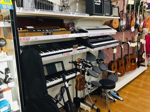 中古楽器のギター