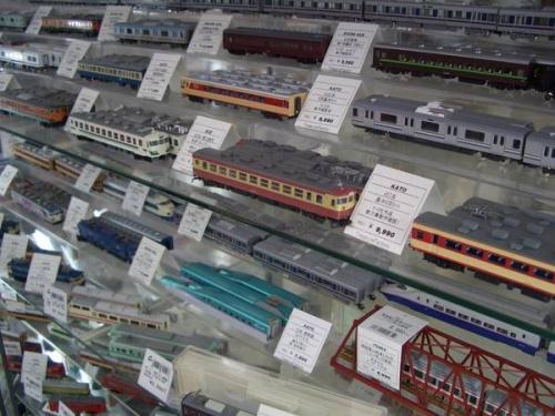 鉄道模型の春日部