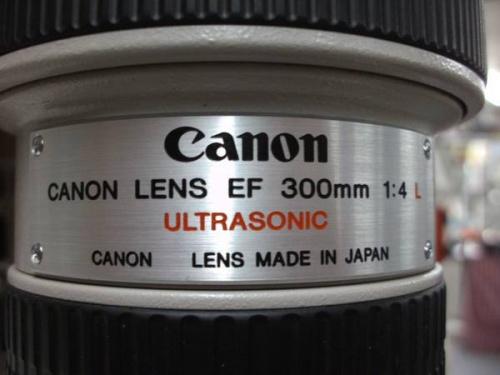 超望遠レンズのCanon