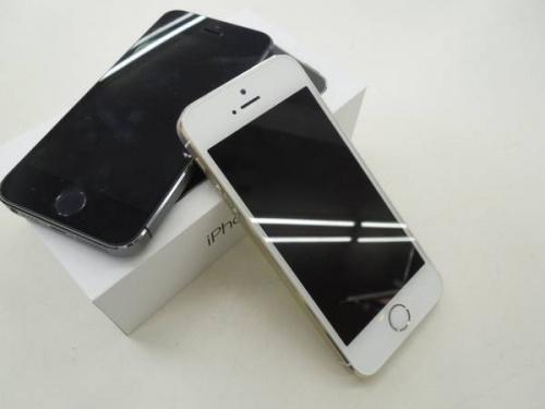 携帯電話のiPhone5S