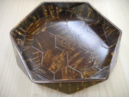 桜皮細工の菓子鉢