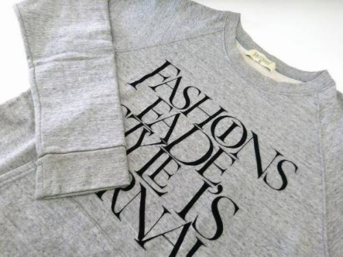 メンズファッションのスウェット