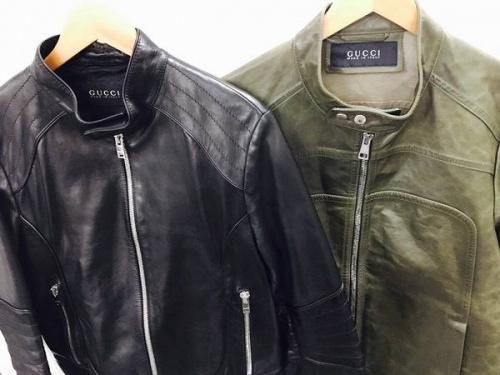 ブランド・ラグジュアリーのレザージャケット