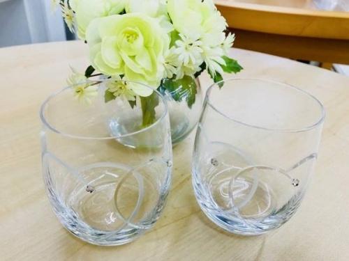 WEDEWOODのグラス