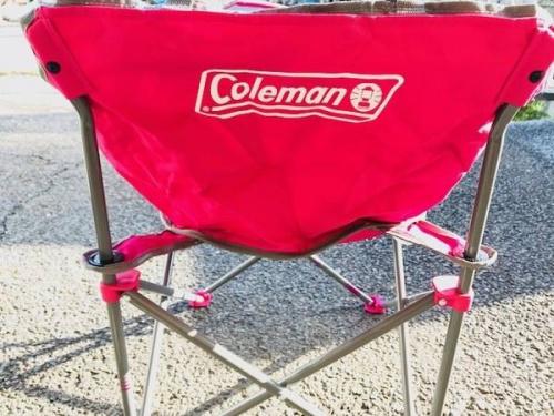 Colemanのアウトドアチェア