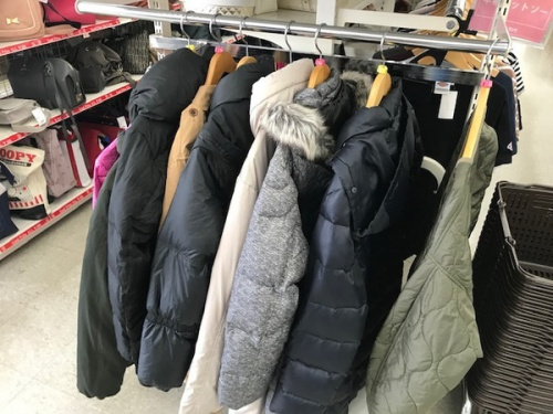 買取強化の衣類