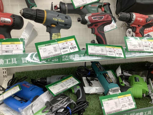 DIY 電動工具の中古 買取