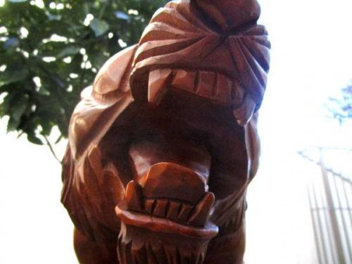 和雑貨の木彫り