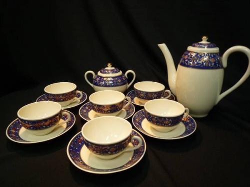 コーヒーセットのカップ&ソーサー
