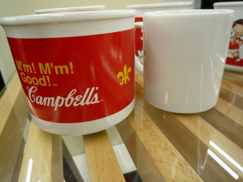 スープのマグカップ