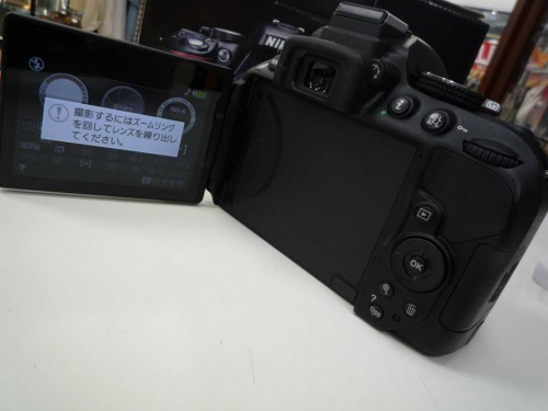 デジタルカメラのNIKON