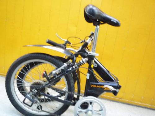 Wranglerの折りたたみ自転車