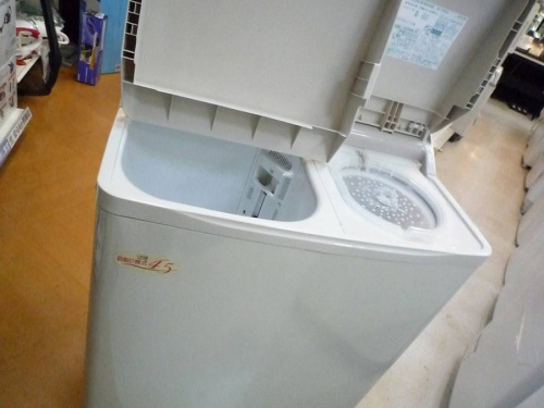 生活家電・家事家電の2層式洗濯機