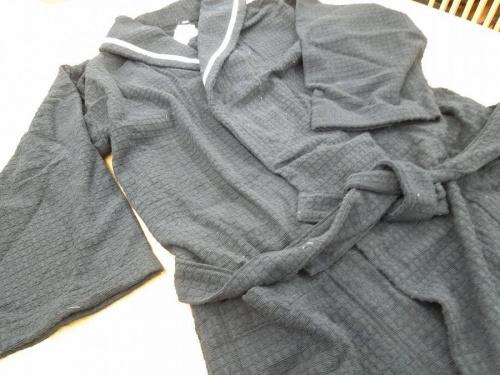 今治浴巾のバスローブ