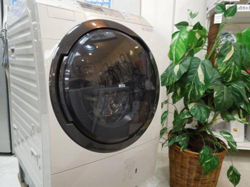 Panasinicのドラム式洗濯機