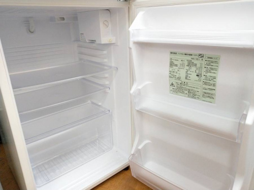 2ドア冷蔵庫の新生活
