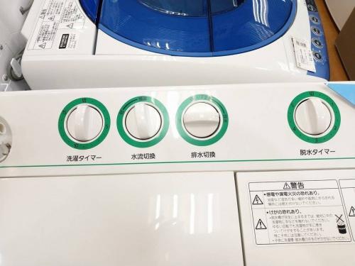 2層式洗濯機のPanasonic