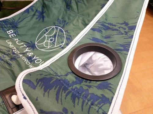キャンプ用品のアウトドアチェア