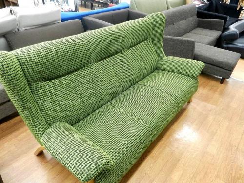 3人掛けソファーの立川中古家具