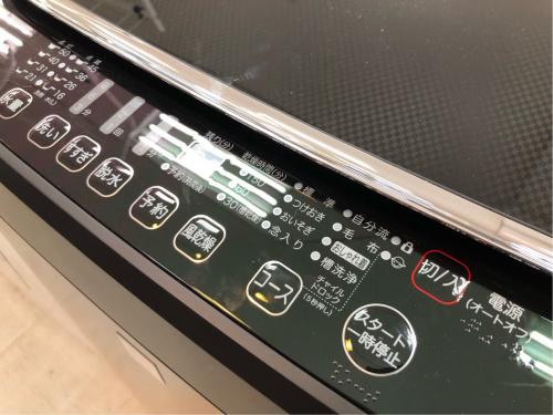 洗濯機の未使用洗濯機