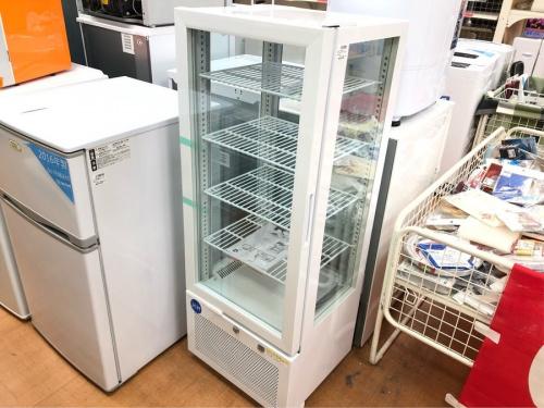 立川中古家電のショーケース冷蔵庫