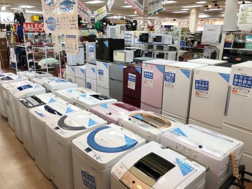 立川中古洗濯機の立川中古冷蔵庫