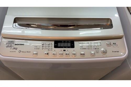 洗濯乾燥機の簡易乾燥機能付洗濯機