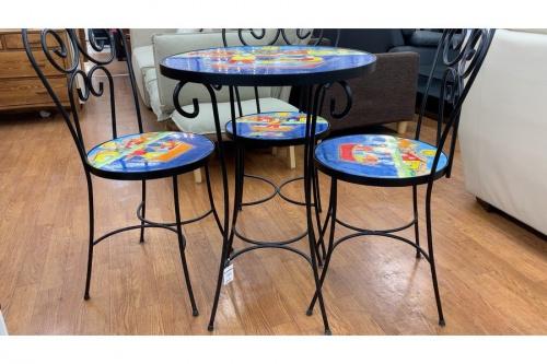 テーブルのガーデンテーブルセット