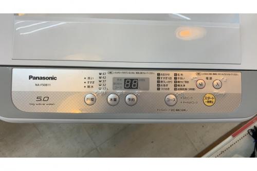 簡易乾燥機能付洗濯機のPanasonic