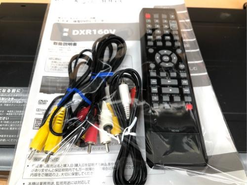 日野橋家電のビデオ一体型レコーダー