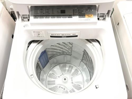 開閉上開きタイプ洗濯機の簡易乾燥機能付洗濯機