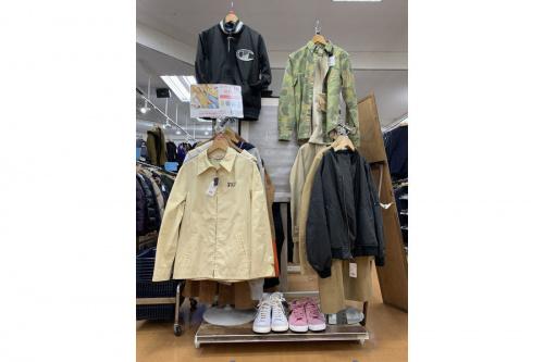 買取強化の中古衣類