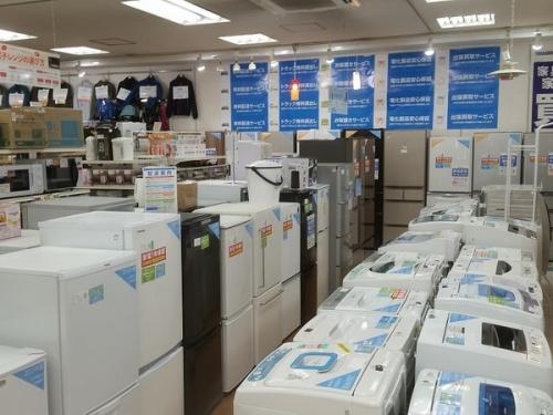 洗濯機のAV機器