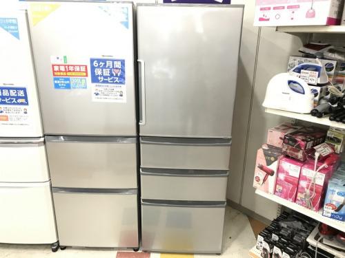 大型冷凍、冷蔵庫の新生活家電