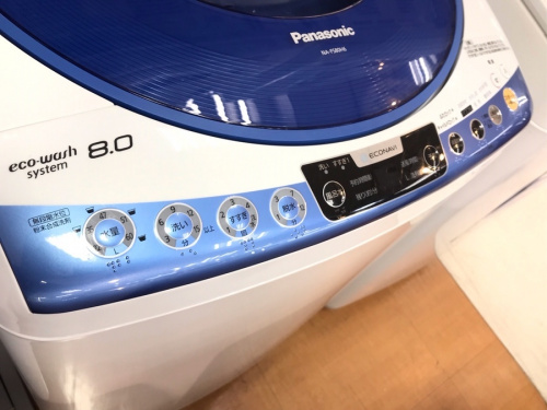 縦型洗濯乾燥機のPanasonic