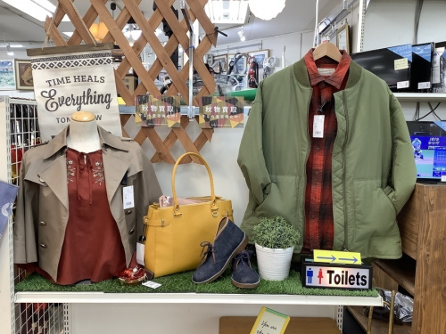 秋物衣類買取強化中!のファッション