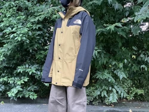 メンズファッションのマウンテンジャケット