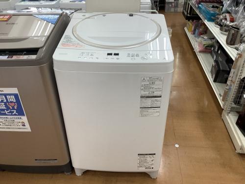洗濯機のTOSHIBA