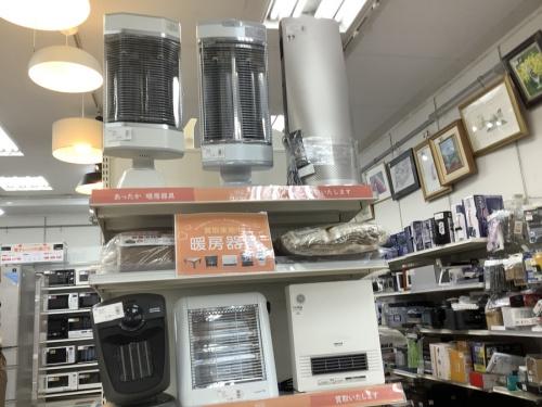 煖房器具の冬物家電買取強化中