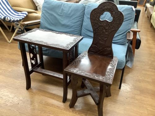 家具のチェア テーブル