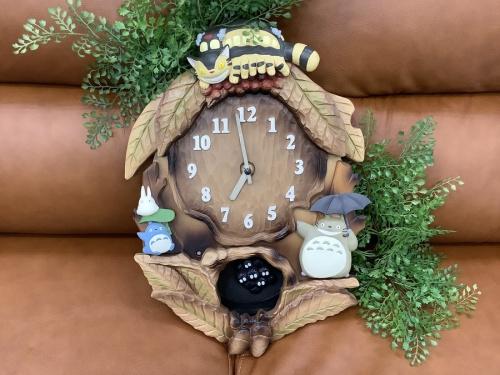 掛時計のジブリ