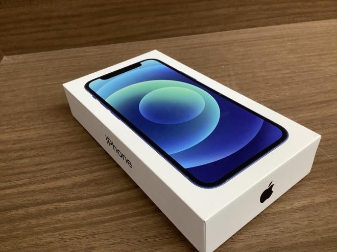 iPhone12 mini ブルー が買取入荷しました!!【立川日野橋店】