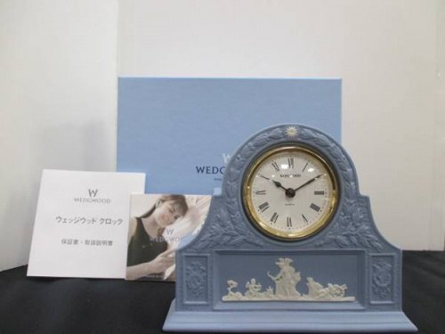 置き時計のWEDGWOOD