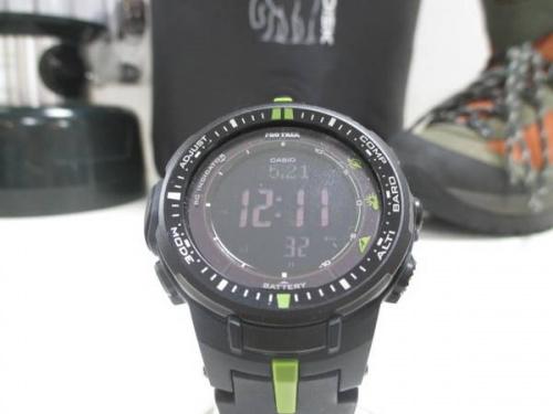 腕時計のアウトドア