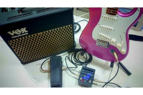 ギターのエフェクター