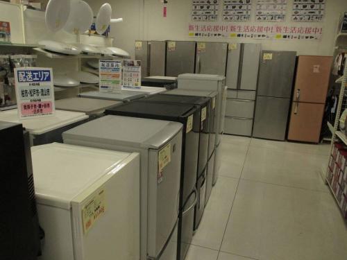 炊飯器の冷蔵庫