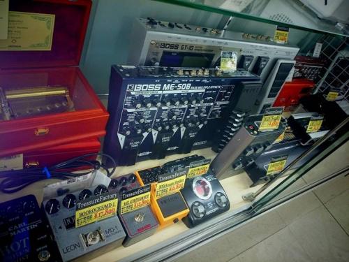 エフェクターのギターエフェクター