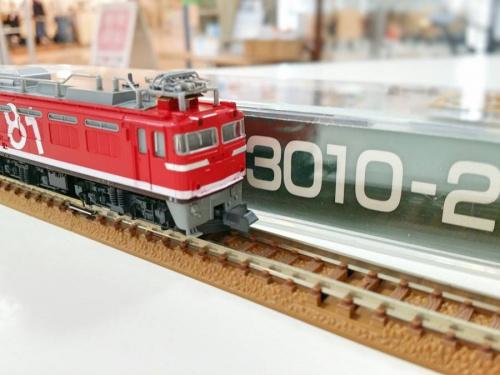 NゲージのEF81 95